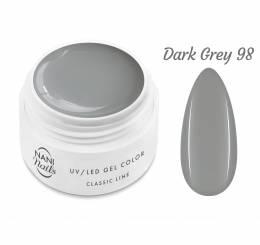 Gel UV NANI Classic Line 5 ml - Dark Grey