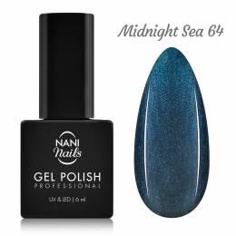 Ojă semipermanentă NANI 6 ml - Midnight Sea