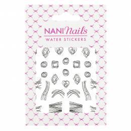 Stickere cu apă NANI - 36