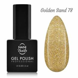 Ojă semipermanentă NANI 6 ml - Golden Sand