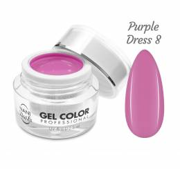 Gel UV/LED NANI Professional 5 ml - Purple Dress
