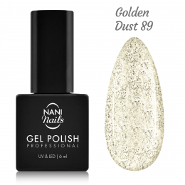Ojă semipermanentă NANI 6 ml - Golden Dust
