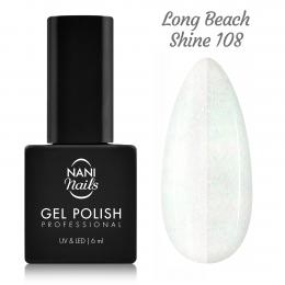 Ojă semipermanentă NANI 6 ml - Long Beach Shine