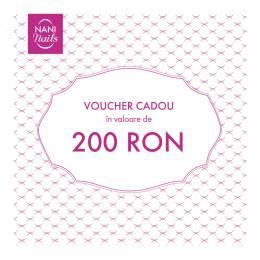Voucher cadou în valoare de 200 RON