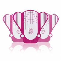 Șabloane NANI pentru unghii Bee, 100 ks