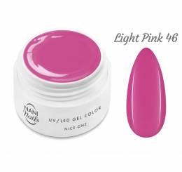 Gel UV NANI Nice One Color 5 ml - Light Pink
