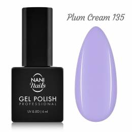 Ojă semipermanentă NANI 6 ml - Plum Cream