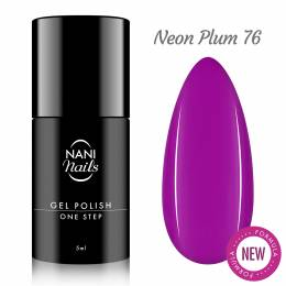 Oja semipermanenta NANI One Step 5 ml - Neon Plum