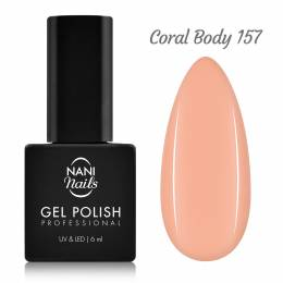 Ojă semipermanentă NANI 6 ml - Coral Body