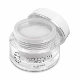 Pudră acrilică NANI 3,5 g - Glitter White