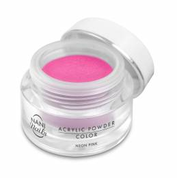 Pudră acrilică NANI 3,5 g - Neon Pink