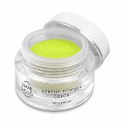 Pudră acrilică NANI 3,5 g - Neon Yellow