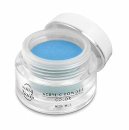 Pudră acrilică NANI 3,5 g - Neon Blue