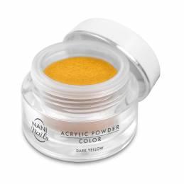 Pudră acrilică NANI 3,5 g - Dark Yellow