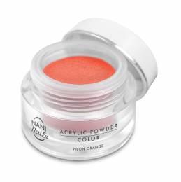 Pudră acrilică NANI 3,5 g - Neon Orange