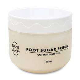 Peeling de zahăr NANI pentru picioare 350 g - Cotton Blossom