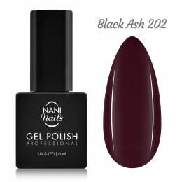 Ojă semipermanentă NANI 6 ml - Black Ash