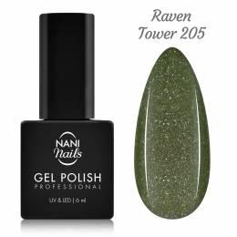 Ojă semipermanentă NANI 6 ml - Raven Tower