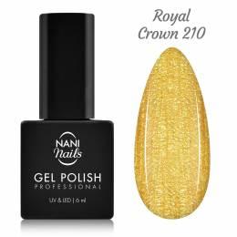 Ojă semipermanentă NANI 6 ml - Royal Crown