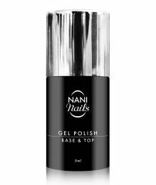 Oja semipermanentă NANI 5 ml - Base/Top (2 în 1)