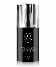 Oja semipermanentă NANI Super Soak 5 ml - Hard Top