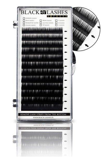 Permanentné riasy MIX, typ C - 0,15 x 8-16 mm