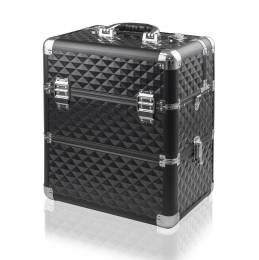 NANI dvojdielny kozmetický kufrík NN038 - Black 3D