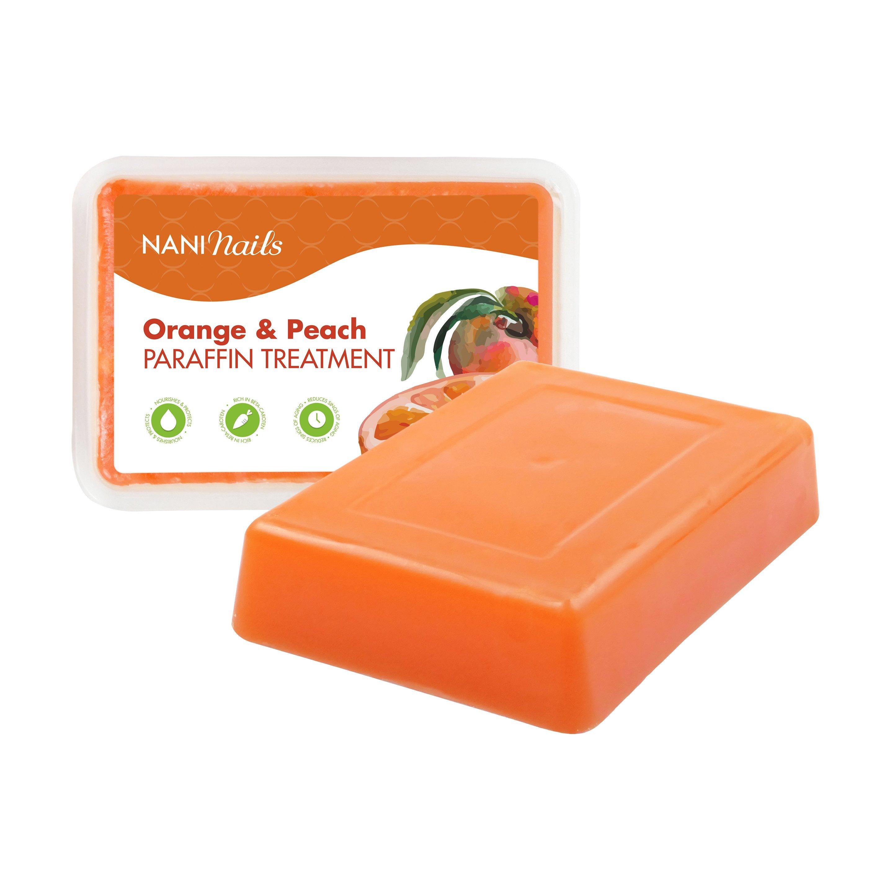 NANI kozmetický parafín 500 g - Orange & Peach