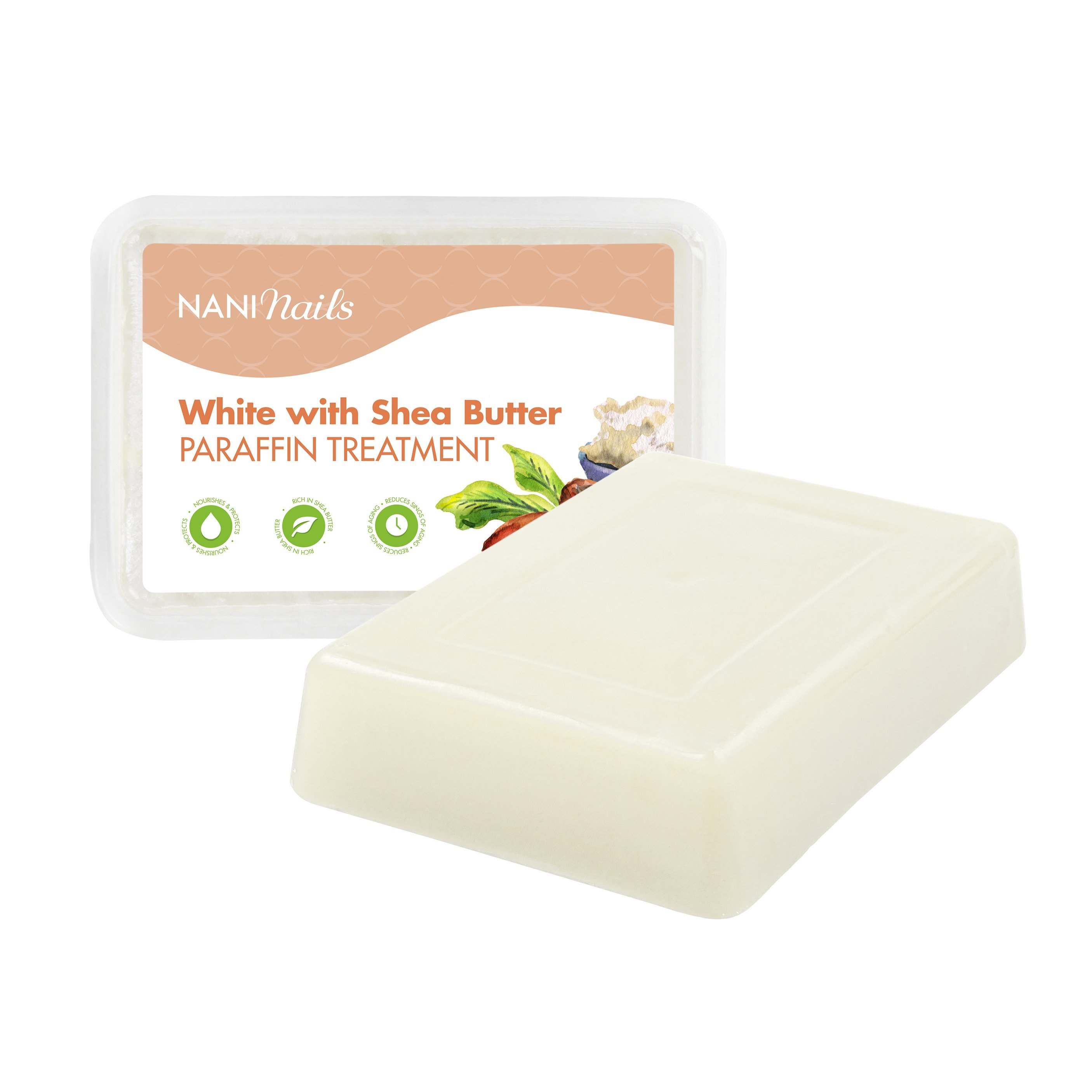 NANI kozmetický parafín 500 g - White with Shea Butter