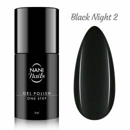 NANI gél lak One Step Lux 5 ml - Black Night