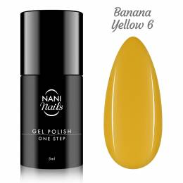 NANI gél lak One Step Lux 5 ml - Banana Yellow