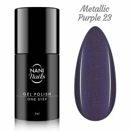 NANI gél lak One Step Lux 5 ml - Metallic Purple