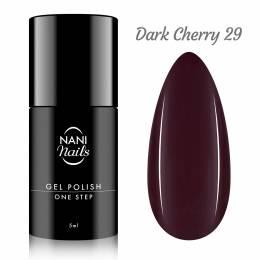 NANI gél lak One Step Lux 5 ml - Dark Cherry