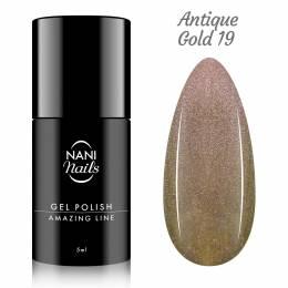 NANI gél lak Amazing Line 5 ml - Antique Gold