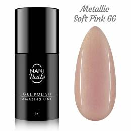 NANI gél lak Amazing Line 5 ml - Metallic Soft Pink