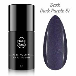 NANI gél lak Amazing Line 5 ml - Metallic Dark Purple