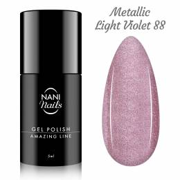 NANI gél lak Amazing Line 5 ml - Metallic Light Violet