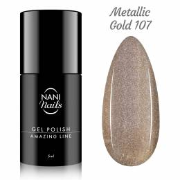 NANI gél lak Amazing Line 5 ml - Metallic Gold