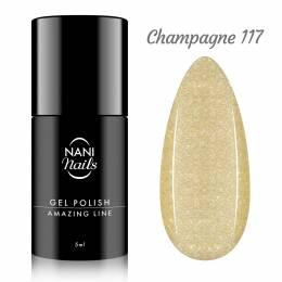 NANI gél lak Amazing Line 5 ml - Champagne
