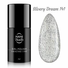 NANI gél lak Amazing Line 5 ml - Silvery Dream
