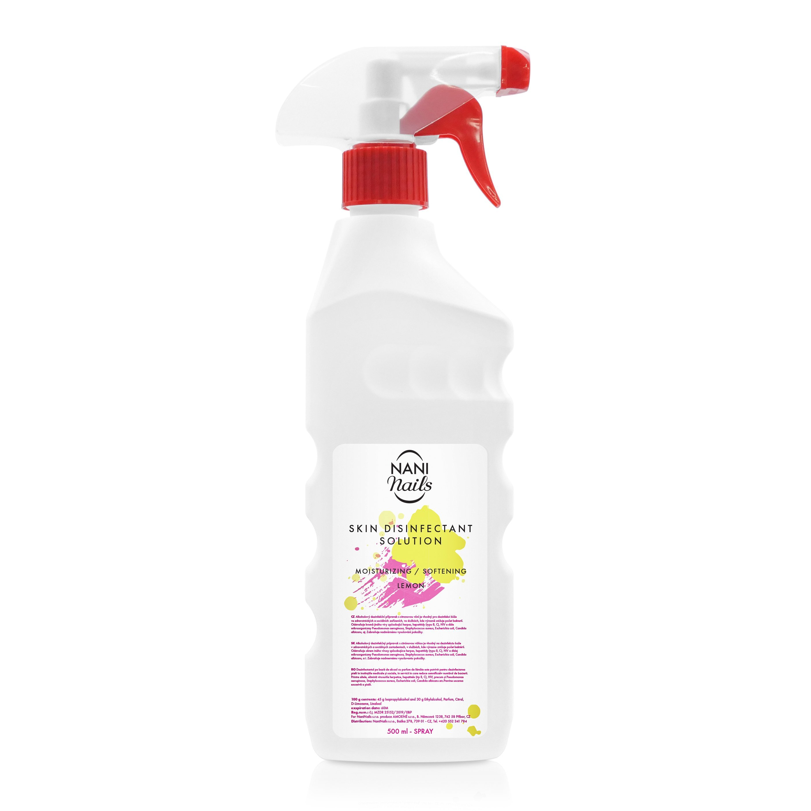 NANI Lavosept dezinfekcia na ruky 500 ml - Lemon