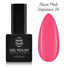 NANI gél lak 6 ml - Neon Pink Hapiness