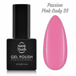 NANI gél lak 6 ml - Passion Pink Lady