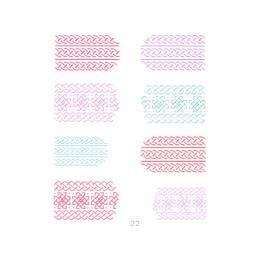 NANI 3D samolepky Knitwear 22