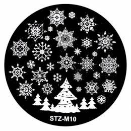 NANI zdobiaca doštička Vianoce M10