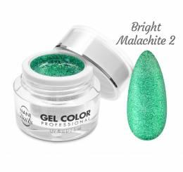NANI UV/LED gél Glamour Twinkle 5 ml - Bright Malachite