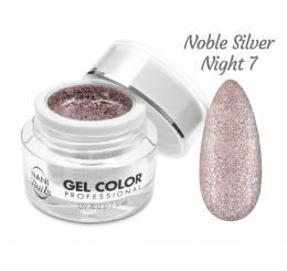 NANI UV/LED gél Glamour Twinkle 5 ml - Noble Silver Night