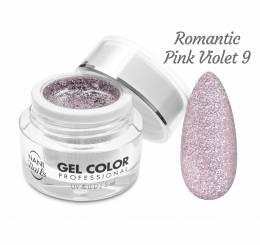 NANI UV/LED gél Glamour Twinkle 5 ml - Romantic Pink Violet