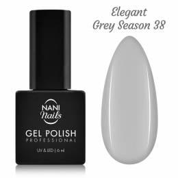 NANI gél lak 6 ml - Elegant Grey Season