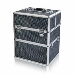 NANI dvojdielny kozmetický kufrík NN45 - Black Diamond